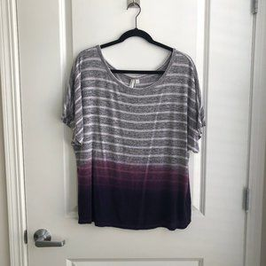 Ombre Striped Tee